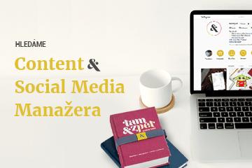 Hledáme Content & Social Media Manažera do našeho týmu. Jsi to ty?