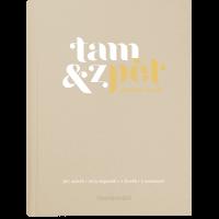Deník Tam & zpět - 167 x 225 mm, béžový