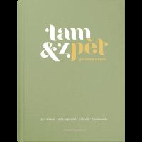 Deník Tam & zpět - 125 x 165 mm, zelený