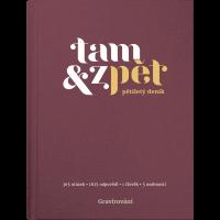 Deník Tam & zpět - 167 x 225 mm, vínový