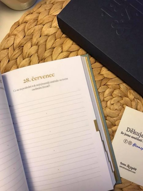 Pětiletý deník Tam & Zpět