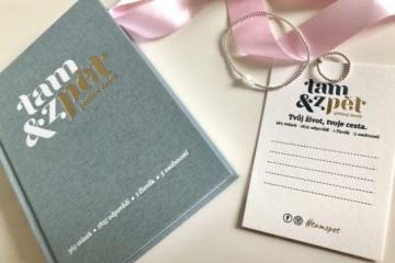Life Style BRNO: Tip na dárek – Deník Tam & zpět